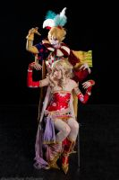 Kefka and Terra 2 by FreakySpikyHead
