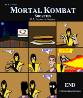MK Scorpion at Quiznos by AraghenXD