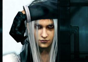 Sephiroth - Soldier 1st Class by Lesleigh63