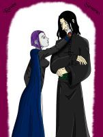 Raven+Snape - Compassion by CarpeCanum