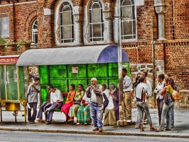 Asmara Bus Station HDR by M-AlJabarty