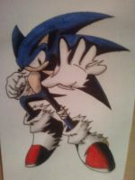 Sonic Tattoo COLOUR by nothing111111