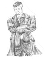The Doctor - Sketch by loonylovegood93