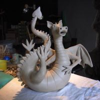 wIP Dragon by Hippopottermiss