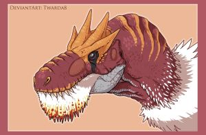Tyrantrum by Twarda8