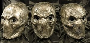 Mask of the 'Horrors' Silver by Uratz-Studios