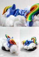 Caught Napping 2 by dustysculptures