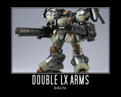 LX Armored Core Poster by Ajtnz
