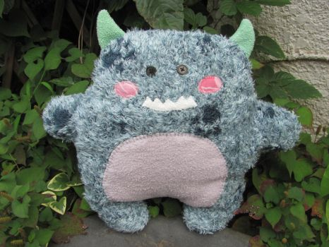Eco Fuzzy Monster - SOLD by mypetmoon