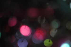 Colourful bokeh 18 by Muse-of-Stock