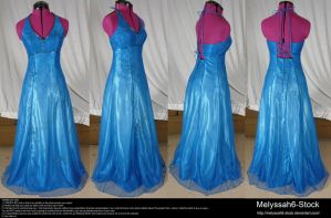Blue Dress Stock by Melyssah6-Stock