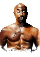 2pac by TheSerialDrawer