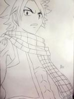 Natsu Dragneel [in process] by xAlisa-chanx