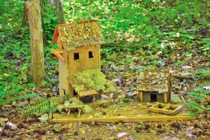 Fairy Woodcutter's Cottage by sioranth