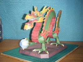 Chinese Luck Dragon Statue 2 by devastator006
