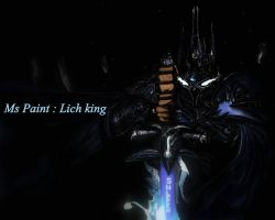 Ms Paint : Lich king V2 by Shleeen