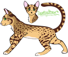 Spottedheart Reference *New Design* by SpottedCrows