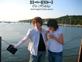 Death Note On Holiday by Damek0Masca