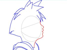 How to draw Sora of Kingdom Hearts Part 1 by SketchHeroes