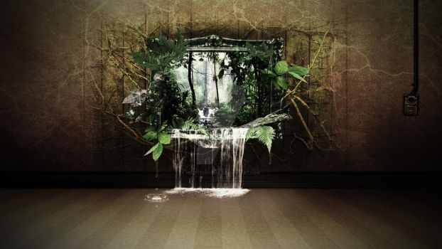 Jungle Picture Frame 3D by HelpTechCona