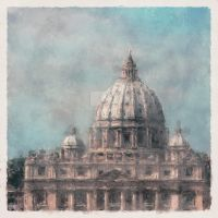 Italian Architecture Series #1 by LC-Bailey-Art