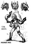 God Bless From Rumble kid comic book by FrancescoIaquinta