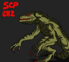 Scp-682 by cocoy1232