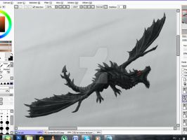 WIP for Skyrim contest by Do-El