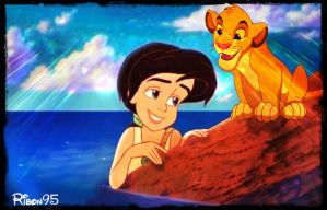 Melody and Simba - Request by Ribon95