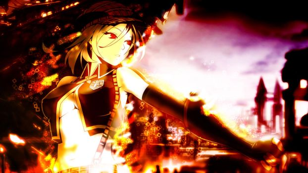 (More Effects) Alisa Wallpaper by Nirvaxstiel