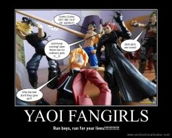 Yaoi fangirls motivational poster by Miss-Sweetlivvy