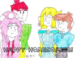 Happy Homecoming! Part 1 of 3 by RosalinasSoulmate