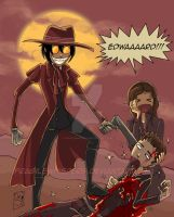 Hellsing vs Edward by FragileWhispers