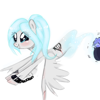 The Cutest Little Ghostie By Bhappybug by 0GhostlyGhastly0