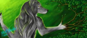 Bookmark - Wolf of the Earth by Mist-Howler
