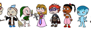 The legend of Rugrats by PukyBear