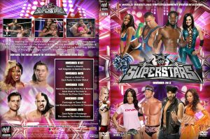 WWE Superstars November 2013 DVD Cover by Chirantha