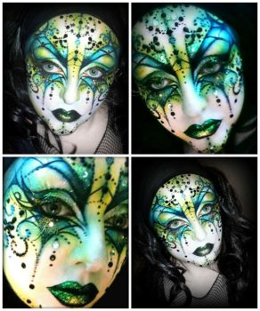 Venetian Mask Collage by BeccyBex