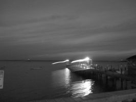 Gray Night on the Water by wolf912