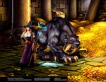 Dragon Crown Sorceress Tiger Sabretooth by bandro