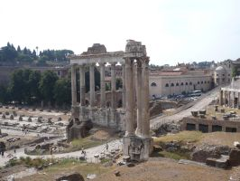 Roman Ruins STOCK by Chiron178
