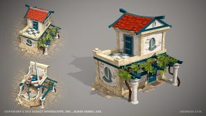 Town by ogami3d