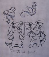 Guinda and friends by ChristalLovePkmn