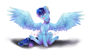 Commission: Happy! by dream--chan