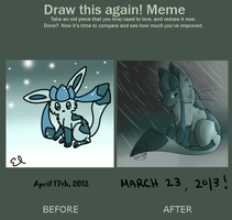 .:Draw This Again! Meme:. by nervously