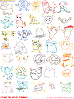 First Time Playing Pokedraw by Carnival-Elsen