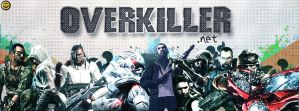 OverKiller.net Facebook Cover by WalidGFX