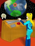Samus close to Snapping by kingofthedededes73