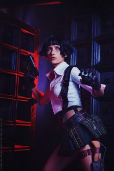 Lady cosplay - Devil May Cry 3 by Narga-Lifestream