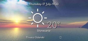 [2x2] Simple Weather Widget V2 by Slavoo123